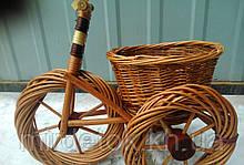 Подставка для цветов Велосипед средний