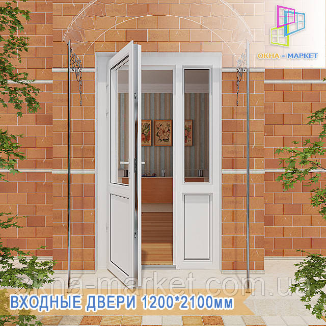 Входные двери Киев 1200*2100