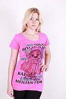 Красивая розовая женская туника.