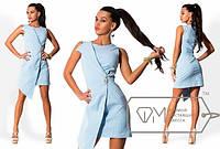 """Стильное молодежное платье мини """" Тонкая полоска """" Dress Code"""