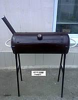Коптильня гарячего копчения мангал барбекю