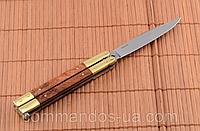 "Складной нож-бабочка (балисонг) ""Зубр"" для охоты, рыбалки и туризма, фото 1"