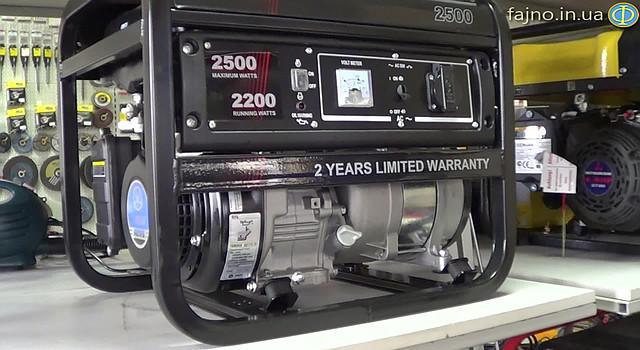 Energy Power 2500 Генератор  фото 6