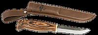 Финский нож Jahti Jakt со вставкой из рога лося на рукоятке