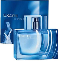 Excite by Dima Bilan EDT 75 ml туалетная вода мужская (оригинал подлинник  Швеция)