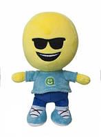 Детская игрушка мягконабивная Imoji Смайлик-человечек Крутячок 21 см  (40061)