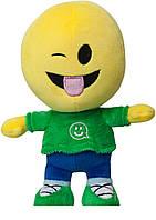 Детская игрушка мягконабивная Imoji Смайлик-человечек Прикольчик 27 см  (42002)