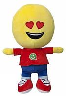 Детская игрушка мягконабивная Imoji Смайлик-человечек Любимец 21 см  (40060)