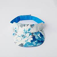 Особенная кепи бело-голубого цвета, фото 1