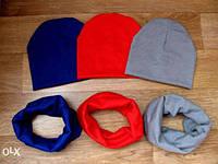 Набор шапочка и хомутик