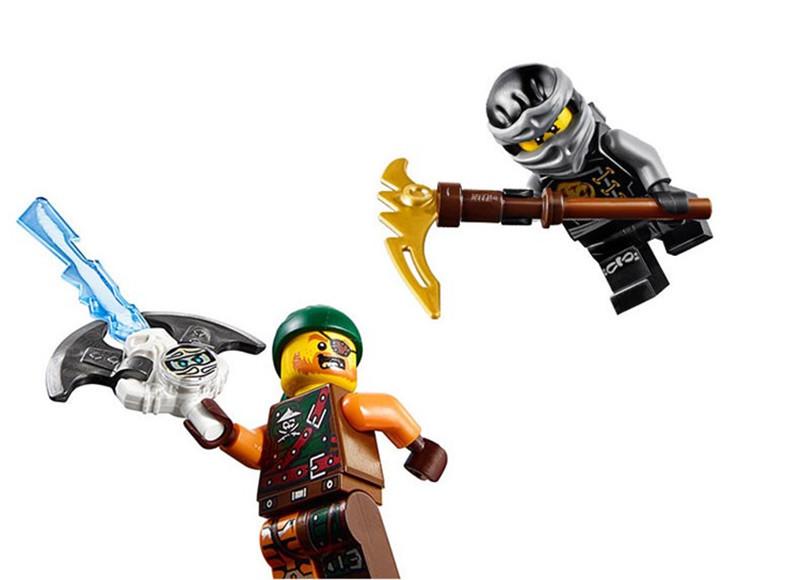 "Конструктор Bela Ninja 10447 (аналог Lego Ninjago 70599) ""Дракон ..."
