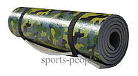 Коврик (каремат) для туризма и фитнеса, камуфляжный, 8 мм, фото 1