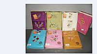 Набор из трёх махровых полотенец (30х50, 50х90, 70х140 см) Philippus Rainbow с вышивкой, Турция