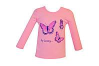 "Детская футболка ""Бабочка"" хлопок Украина TM Harmony"