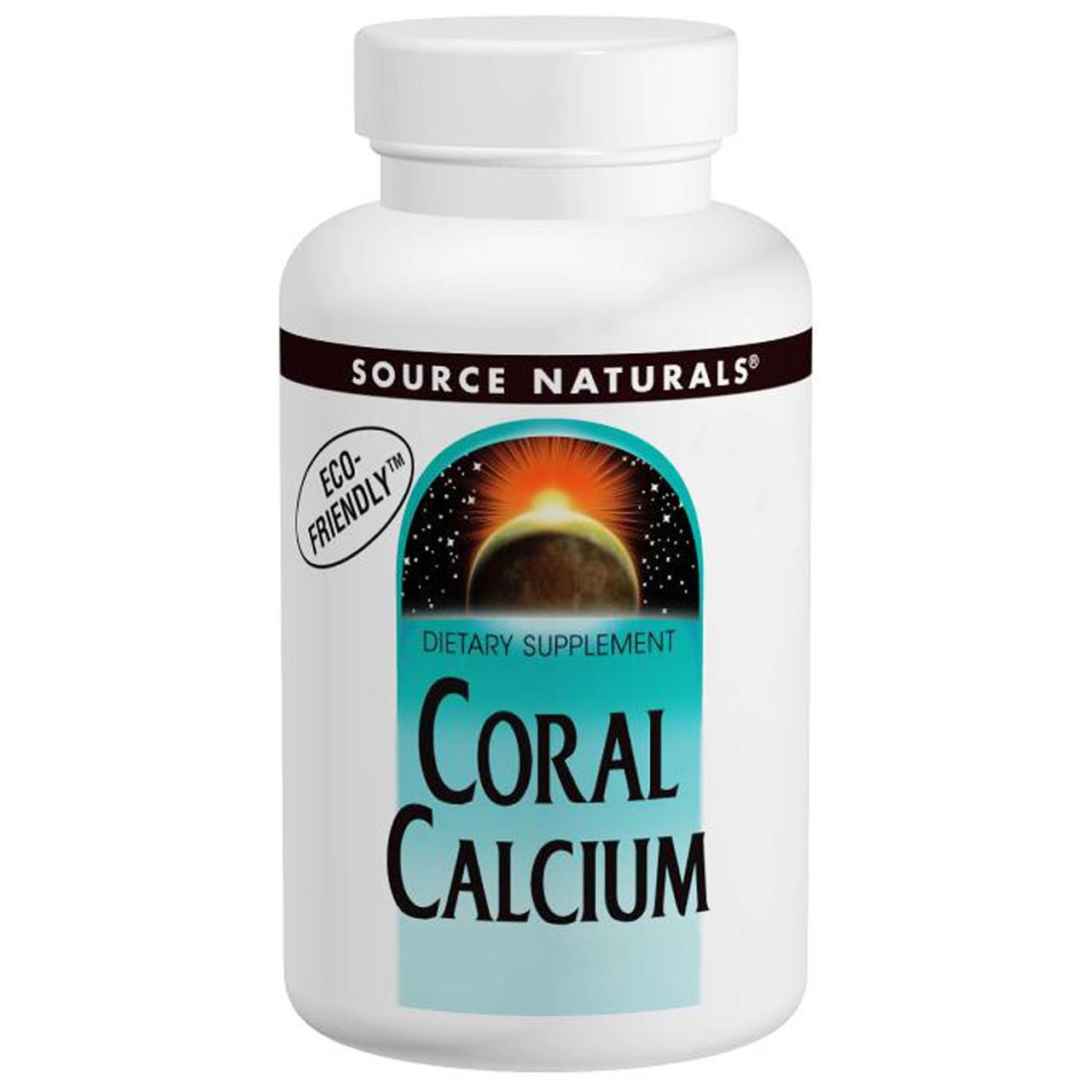 Коралловый кальций, Source Naturals, 2 унции (56,7 г)