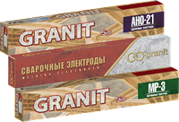 "Электроды сварочные ""GRANIТ""  МР-3, Ø - 3 мм, 2.5 кг"