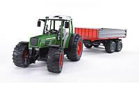 Ирушка - трактор Fendt 209 S с прицепом, Bruder 02104