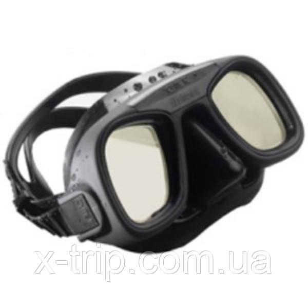 Маска Omer Abyss Exclusive для подводной охоты black silicone 6002GRC