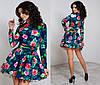 Женское платье коттон в 5 расцветках, фото 3
