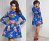 Женское платье коттон в 5 расцветках, фото 4
