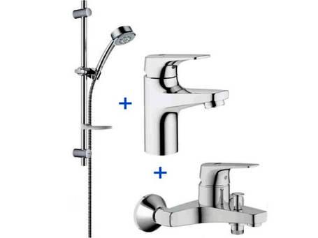 BauFlow Акционный набор для ванны 3в1 (32811000+23156000+27927000), фото 2
