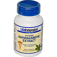 Экстракт ашвагандха, Life Extension, 60 капсул. Сделано в США.