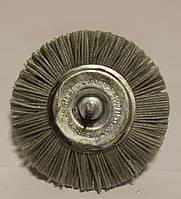 Абразивная щетка Пиранья на дрель 100 мм