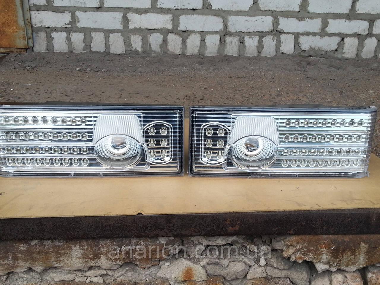 Задние фонари на ВАЗ 2109  Освар-Хрустальный со сколами.