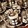 Набор чашек для кофе на 6 персон Sena Серебристый цветок, фото 4