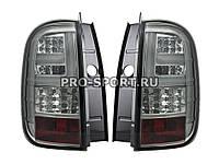 Задние тюнинг фонари Renault Duster светодиодные тонированные хром Рено Дастер