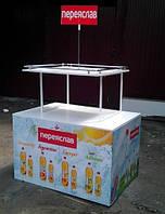 Рекламная торговая стойка стенд  для воды