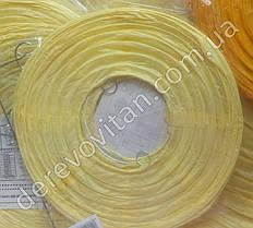 Бумажный подвесной фонарик, светло-желтый, 35 см