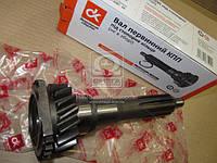 Вал первичный КПП ГАЗ 3307,53 под стопорное кольцо (не в сб.) . 53-12-1701302
