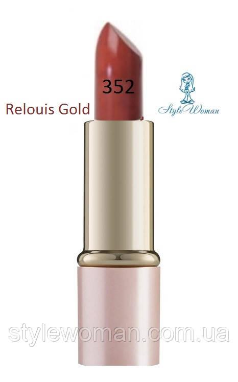 Помада для губ Relouis Gold релуи тон 352