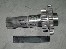 Вал ведущий привода ВОМ МТЗ 80 (ТАРА). 70-1601026