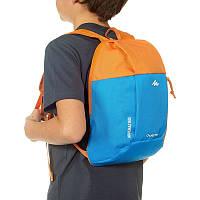 Рюкзак детский маленький 5 литров оранжево-голубой