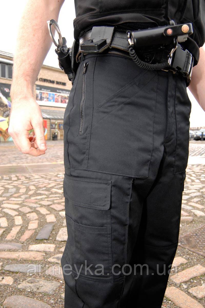 Брюки Police black Combat pants. Великобритания, оригинал.
