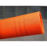 "Сетка фасад 145грм/м.кв. 5мм*5мм (50кв.м) оранжевая ""Будмонстр"" LOGO"