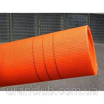 """Сітка фасад 145грм/м. кв. 5мм*5мм (50кв.м) помаранчева """"Будмонстр"""" LOGO"""