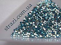 Стразы для ногтей ss3 Aquamarine, 100шт. (1,3-1,4мм)