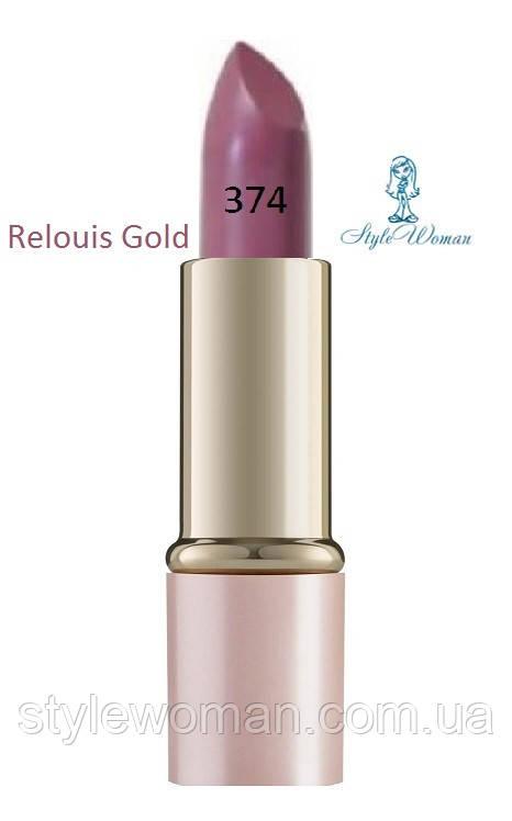 Помада для губ Relouis Gold релуи тон 374