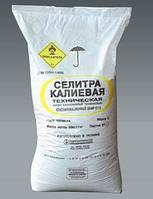 Селитра калиевая (азотнокислый калий, нитрат калия), 25кг