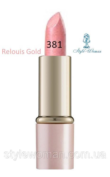 Помада для губ Relouis Gold релуи тон 381