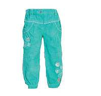 Детские брюки микровельвет для девочки 98, 104 см