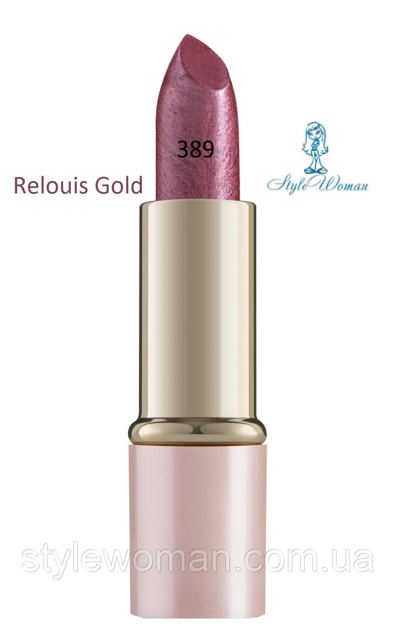 Помада для губ Relouis Gold релуи тон 389