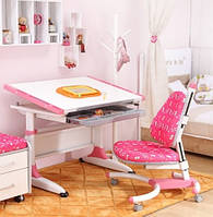 Комплект письменный стол  и детское кресло (2 цвета), Тайвань, фото 1