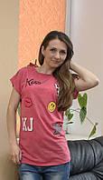 Стильная женская футболка с картинками