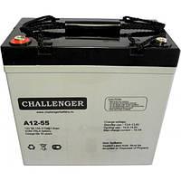 Аккумулятор AGM Challenger A12-55 12V 56.1Ah