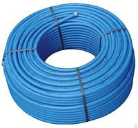 """Труба полиэтиленовая 40*3,0 мм 6 атм синяя из фтор сырья """"ВорсклаПласт"""""""