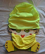 Шапочка и шарф хомут набор